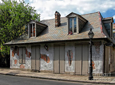 Creole Cottage Wall Art - Photograph - Lafittes Blacksmith Shop Bar New Orleans by Kathleen K Parker