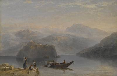 Fog Painting - Lago Maggiore by James Baker Pyne