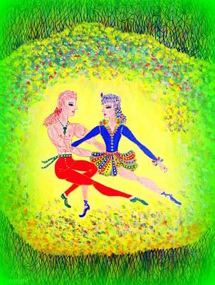 Lagoon Dancers Art Print