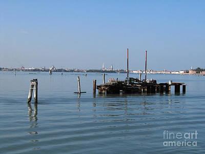 Venise Photograph - Lagoon. Venice by Bernard Jaubert
