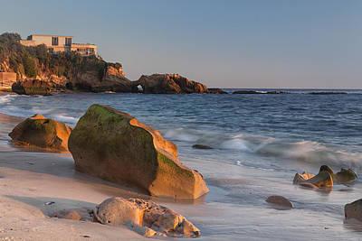 Photograph - Laguna Beach Rock Formations by Cliff Wassmann