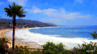 Photograph - Laguna Beach by SM Shahrokni
