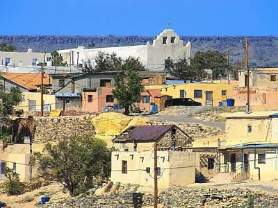 Photograph - Laguna Pueblo by Lisa Dunn