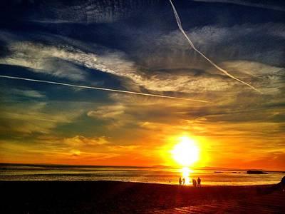 Waiting For The Sun Photograph - Laguna Sun  by Joyful  Events