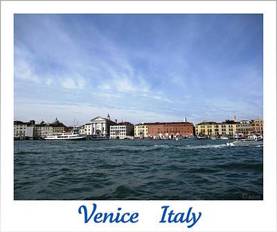 Photograph - Laguna Veneta IIi   Venice  Italy by John Shiron
