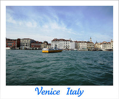Photograph - Laguna Veneta Iv  Venice  Italy by John Shiron