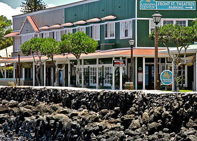 Photograph - Lahaina Center On Front Street by Kirsten Giving