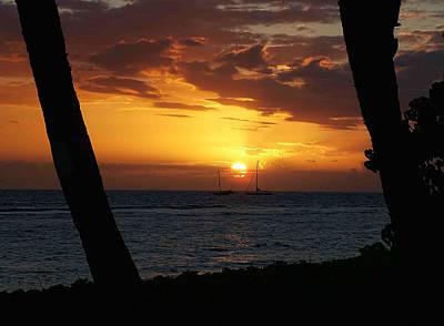 Photograph - Lahania Harbor 4 by Ken Smith
