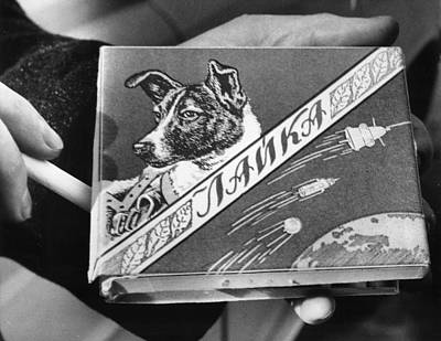 Laika The Russian Space Dog, First Print by Everett