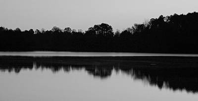 Photograph - Lake Brandt In Black And White by Sheila Kay McIntyre