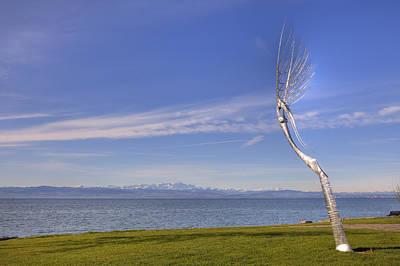 Art Object Photograph - Lake Constace Friedrichshafen by Joana Kruse