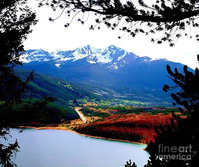 Photograph - Lake Dillon I by Christine S Zipps