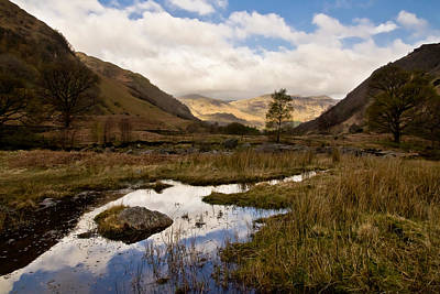 Photograph - Lake District Reflections by Justin Albrecht