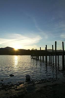 Photograph - Lake District Sunset by Chris Boulton