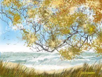Lake Erie Anger Art Print by Jim Hubbard