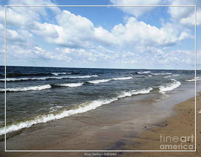 Photograph - Lake Erie At Evangola State Park by Rose Santuci-Sofranko