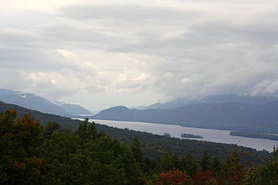 Photograph - Lake George Mtn View by RobLew Photography