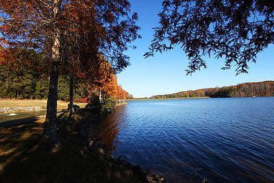 Photograph - Lake Higgins In North Carolina by Sheila Kay McIntyre