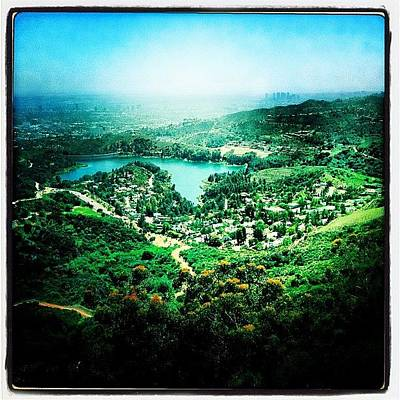 Hollywood Wall Art - Photograph - Lake Hollywood by Torgeir Ensrud