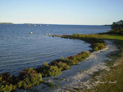 Photograph - Lake Huron Shoreline Collection - St. Ignace Mi by Monica C Stovall