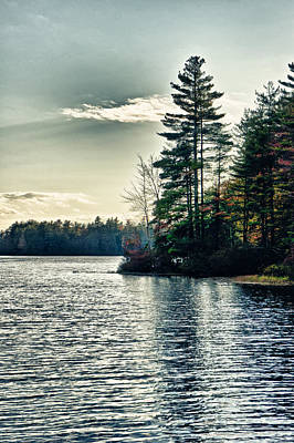 Photograph - Lake In Nh by Edward Myers