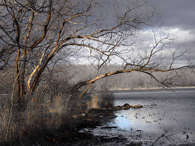 Photograph - Lake In Upper Nyack Park Ny by Viola El