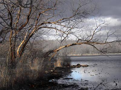 Photograph - Lake In Upper Nyack Park Ny by Viola El