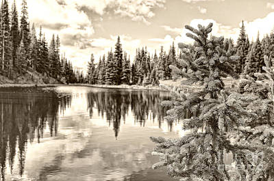 Rocky Mountains Photograph - Lake Irene At Milner's Pass - Rocky Mountain National Park Colorado by Andre Babiak