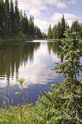 Lake Irene Rocky Mountain National Park Colorado Art Print