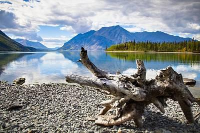 Lake Kathleen In Kluane National Park Art Print by Blake Kent