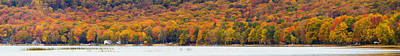 Lake Leelanau In The Fall Art Print by Twenty Two North Photography