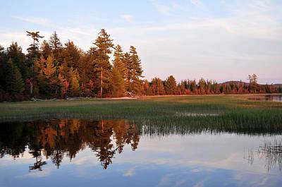 Photograph - Lake Lila Sunset by Peter DeFina