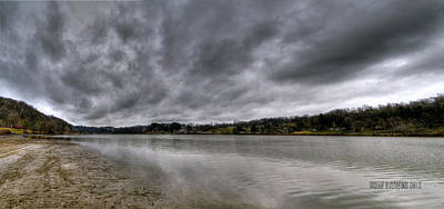 Art Print featuring the photograph Lake Logan Panorama by Brian Stevens