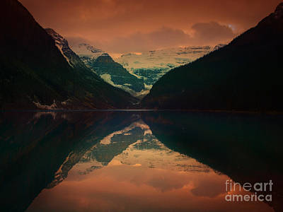 Photograph - Lake Louise Abstract by Tara Turner