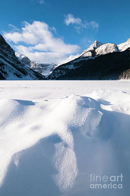 Ice Festival Photograph - Lake Louise by Ginevre Smith