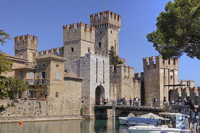Northern Italy Photograph - Lake Maggiore Sirmione by Joana Kruse
