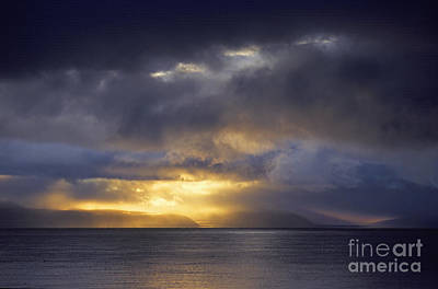 Photograph - Lake Manasarovar Sunset - Tibet by Craig Lovell