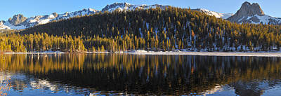 Photograph - Lake Mary Panorama by Lynn Bauer