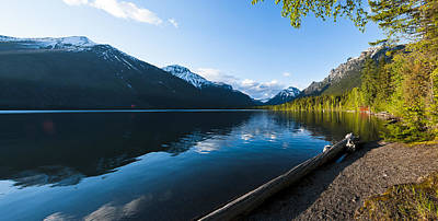 Mcdonald Photograph - Lake Mcdonald by Jay Seeley