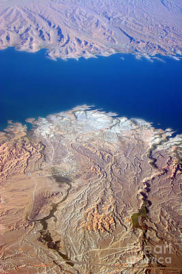 Photograph - Lake Mead Nevada Aerial by James BO  Insogna