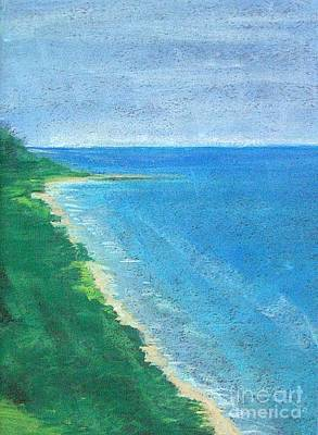 Pastel - Lake Michigan by Lisa Dionne