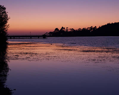 Photograph - Lake Miramar Sunset 1 by Jeremy McKay