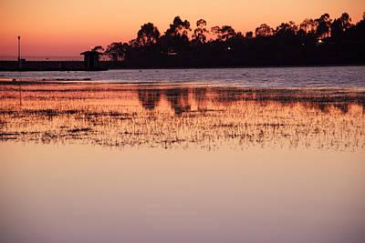 Photograph - Lake Miramar Sunset 5 by Jeremy McKay