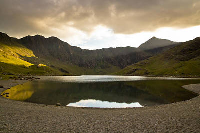 Photograph - Lake Near Mount Snowdon by Justin Albrecht