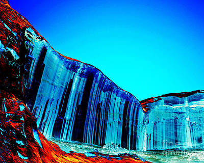 Lake Powell Blue Ice Art Print