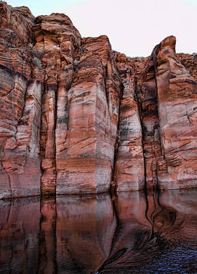 Lake Powell Water Canyon Art Print by Jon Berghoff