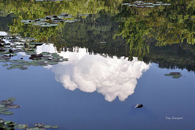 Lake Reflection Art Print by Kay Lovingood