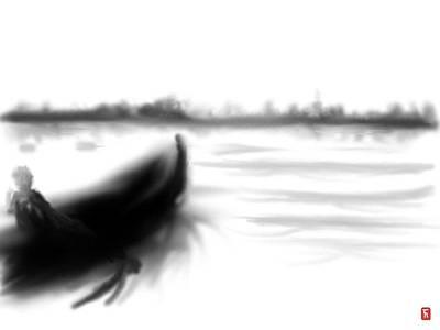 Lake Run Original by Timothy Nieberding