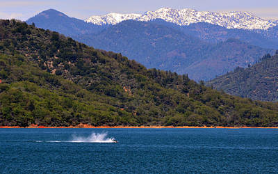 Photograph - Lake Shasta by Rima Biswas
