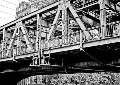 Lake Street Bridge Art Print